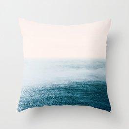 Ocean Fog Throw Pillow