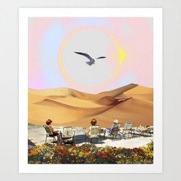 Birdwatching 2.0 Art Print