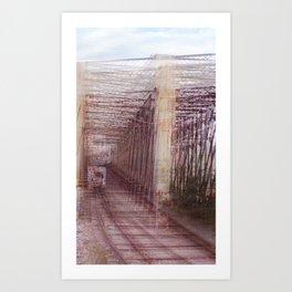 Puntos de vista Art Print