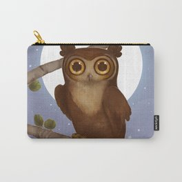 Gallant Great Horned Owl Carry-All Pouch
