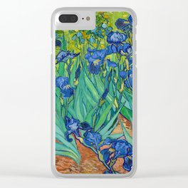 Irises by Vincent van Gogh (May 1889) Clear iPhone Case
