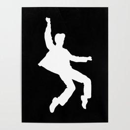White Elvis Poster