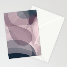 Blush Purple and Blue IV Stationery Cards
