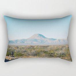 Volcanic mountain Rectangular Pillow