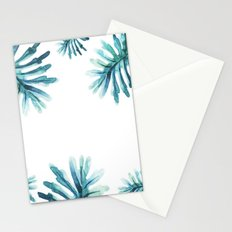 Watercolor botanic pattern Stationery Cards