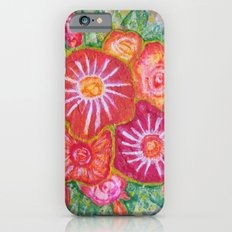Orange Fantasy Flowers Slim Case iPhone 6s