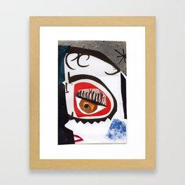 Liza Minnelli #PrideMonth Collage Portrait Framed Art Print