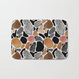 Colored stones. Bath Mat