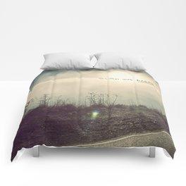 sturm und drang landscape Comforters