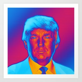 Pop Art President Trump Art Print