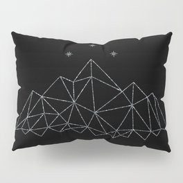 The Night Court insignia from A Court of Frost and Starlight Pillow Sham