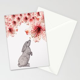 Smelling the Flowers Stationery Cards