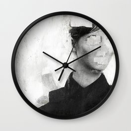 Faceless | number 01 Wall Clock