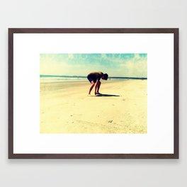 The Artist At Work Framed Art Print