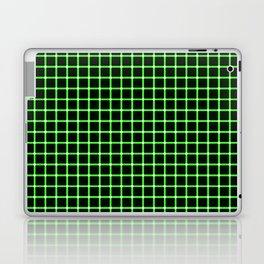 Neon Green & Black Optical illusion Laptop & iPad Skin
