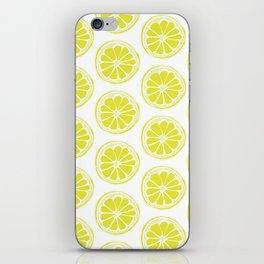 Sliced Lemon iPhone Skin