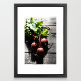 Sweet Beets Framed Art Print