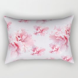 Pink Azalea Flower Dream #1 #floral #pattern #decor #art #society6 Rectangular Pillow