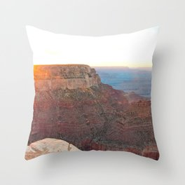 South Rim Sunset Throw Pillow