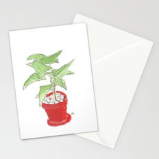 my plant Stationery Cards