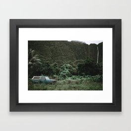 Summer Road Trip II / Kaui, Hawaii Framed Art Print