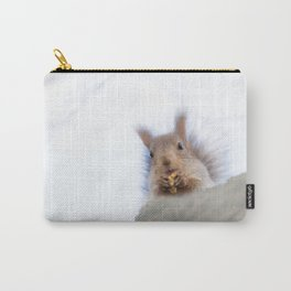 Squirrel with a walnut Carry-All Pouch