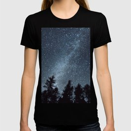 Milky Way in the Woods | Nature and Landscape Photography T-shirt