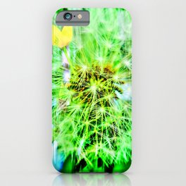 Abstract in Perfection - Blowball iPhone Case
