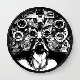 asc 712 - Le masque de la Méduse (Object woman) Wall Clock