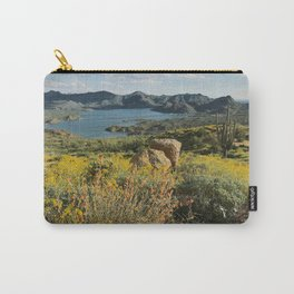 Arizona Spring Mountain Bloom Carry-All Pouch