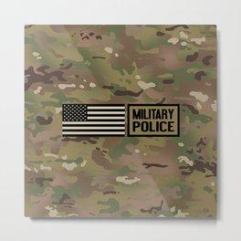 Military Police (Camo) Metal Print