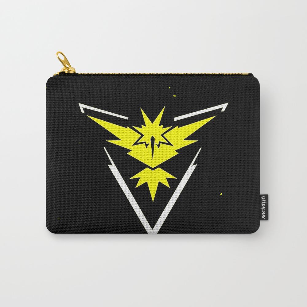 Poke Mon Logo Carry-all Pouch by Tandukemas CAP8520962