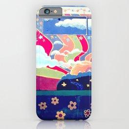 Hippie Camper Van iPhone Case