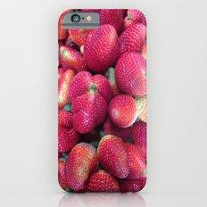 Strawberries in Paloquemao - Fresas en Paloquemao iPhone 6s Slim Case