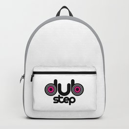 Dubstep Speakers Rave Quote Backpack