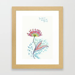 Invisible Force Framed Art Print