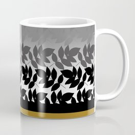 Hombre Leaf Black Gold Coffee Mug