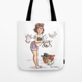 To be born Tote Bag