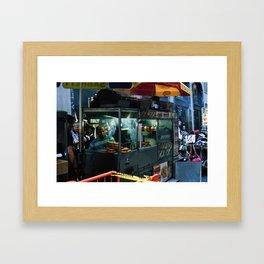 Get It Hot Framed Art Print