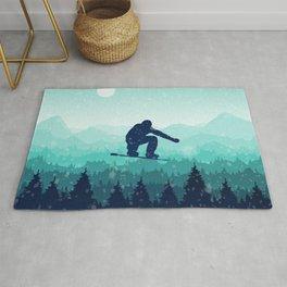 Snowboard Skyline II Rug