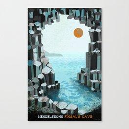 Fingal's Cave Overture - Hebrides - Mendelssohn Canvas Print
