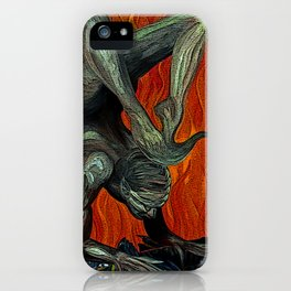Scorpion Remix iPhone Case