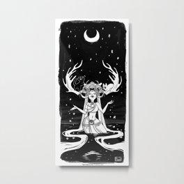Druid Luna Metal Print