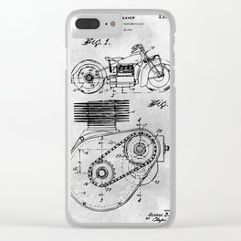 Shaft Drive Motorcycle Clear iPhone Case