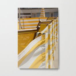Yellow Summer Metal Print