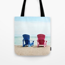 AFE Beach Chairs Tote Bag