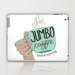 Jumbo Coffee Morning Laptop & iPad Skin