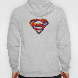 Superman in Flames Hoody