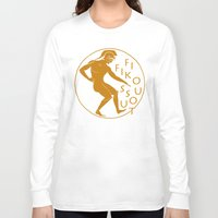 greek Long Sleeve T-shirts featuring GREEK LOGO by Fifikoussout