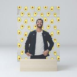 Daniel Ricciardo; avocado. Mini Art Print